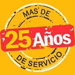 Logo 25 años Indumetan